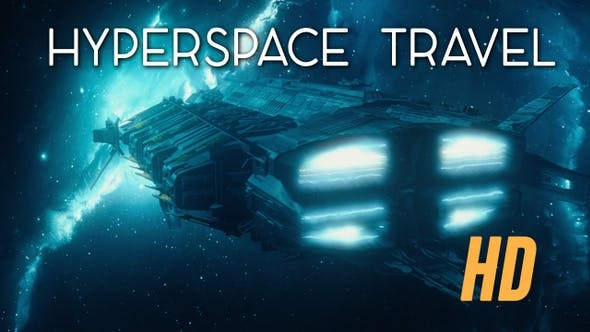 Thumbnail for Entering Hyperspace Travel HD