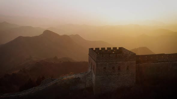 Thumbnail for Flying over the Great Wall of China