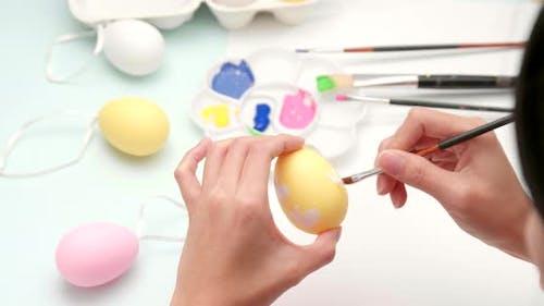 Decorates Easter egg
