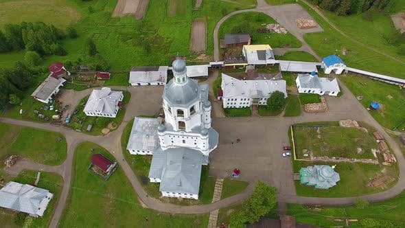 Thumbnail for Top View Of Orthodox Monastery