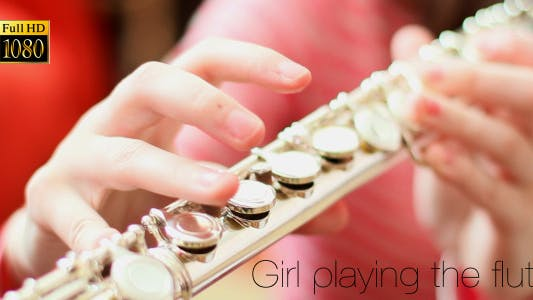 Thumbnail for Girl Playing The Flute (2 in 1)