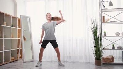 Hiphop Dance Home Fitness Enjoy Training