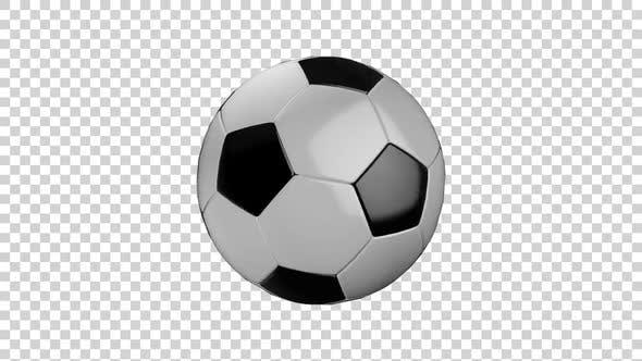 Thumbnail for Fußball mit Alphakanal