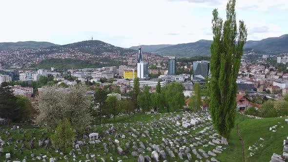 Thumbnail for Old Jewish Cemetery In Sarajevo  V2