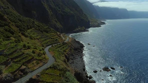 Thumbnail for Mountainous Coastal Road of Madeira