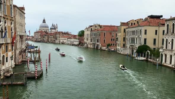 Awesome View of Water Channel in Venice