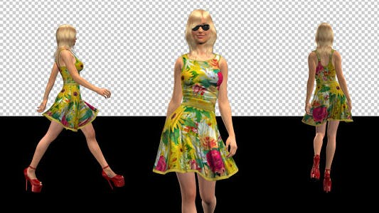 Thumbnail for Fashion Model - 01 - Fancy Pansy - Pack of 4