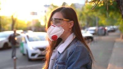 Red Respirator