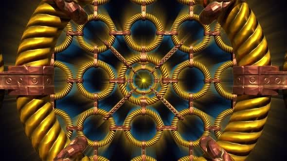 Thumbnail for Golden Rings Grid