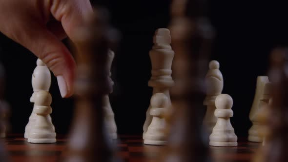 Thumbnail for Hand Moving A Pawn Piece On A Chessboard 20