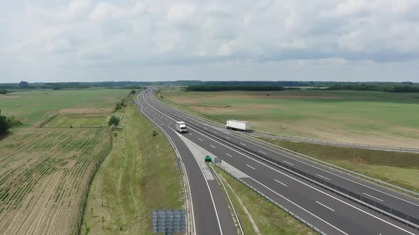 Thumbnail for Moving Truck on a Motorway