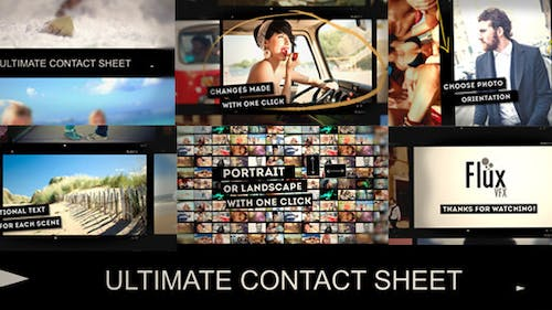 Ultimate Contact Sheet Slide Show