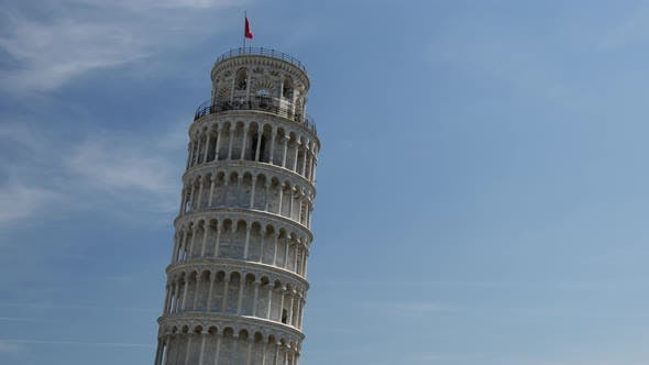 Thumbnail for Time lapse from tourists on the Leaning Tower