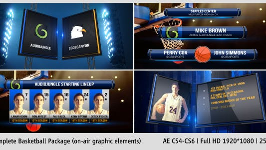 Thumbnail for Complete On-Air Basketball Package