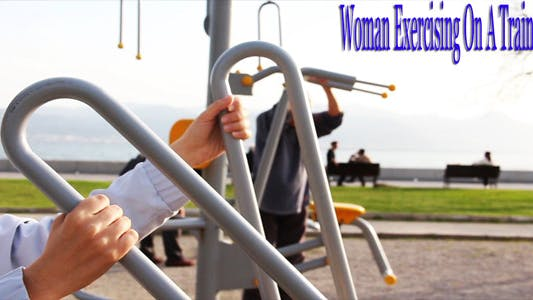 Thumbnail for Woman Exercising On A Trainer II
