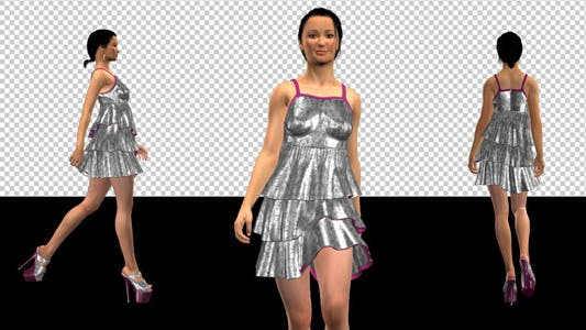 Thumbnail for Fashion Model - 04 - Brandy Candy - Pack of 4