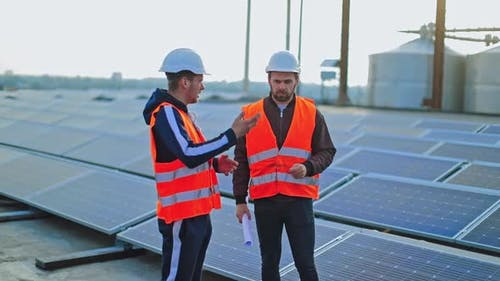 Installing photovoltaic panels