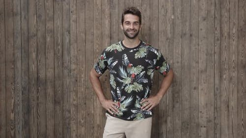 Guy In Flower Pattern