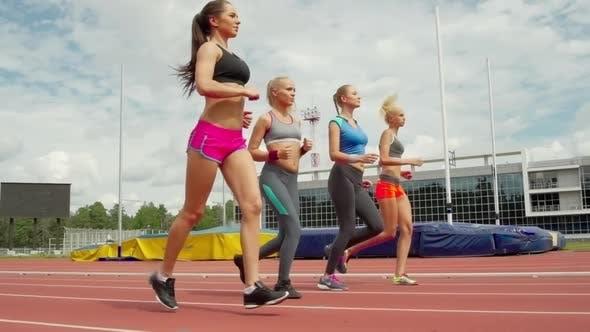 Thumbnail for Female Athletes Training