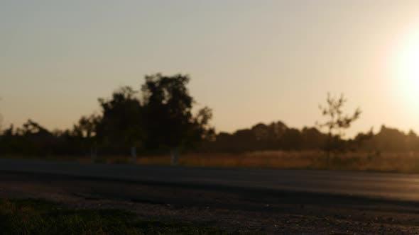 Thumbnail for Road Traffic Sunset