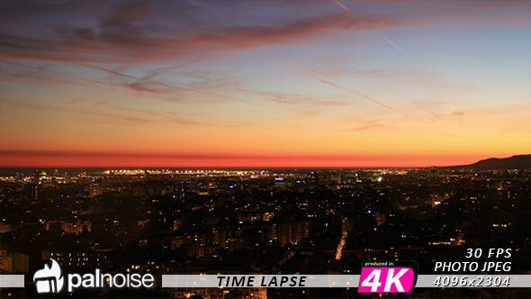 Thumbnail for City Sunset Cityscape