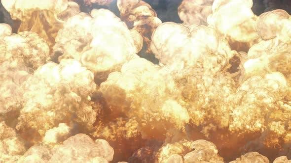 Thumbnail for Gigantic Explosion Loop 4K