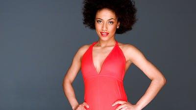 Beautiful Sexy Glamorous African American
