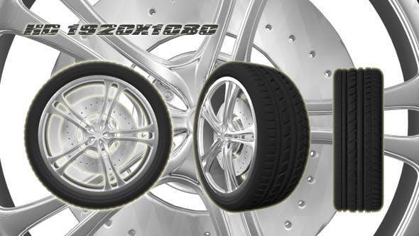 3D Animated Wheel 3