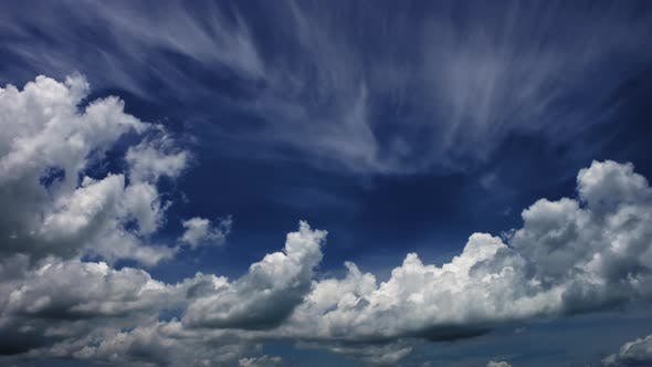 Dramatic Tropical Monsoon Storm Cloud Time Lapse