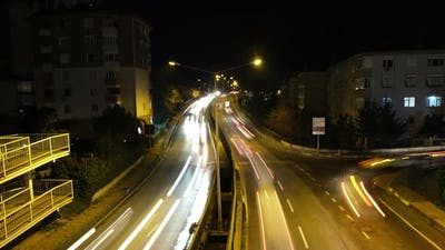 City Night Traffic