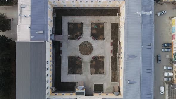 Thumbnail for Renovated new courtyard of the administrative building