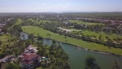 Golf Camp In Punta Cana With Drone   In 60fps