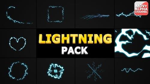 Pack Lightning   Graphiques animés