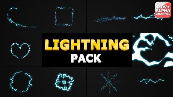 Lightning Pack | Motion Graphics