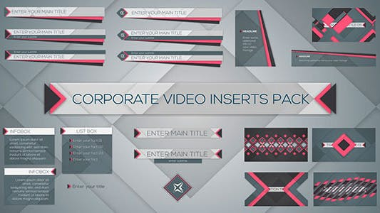 Thumbnail for Corporate Video Inserts Pack