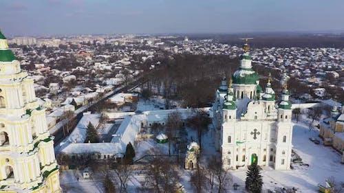 The Trinity Monastery Chernigov City Ukraine