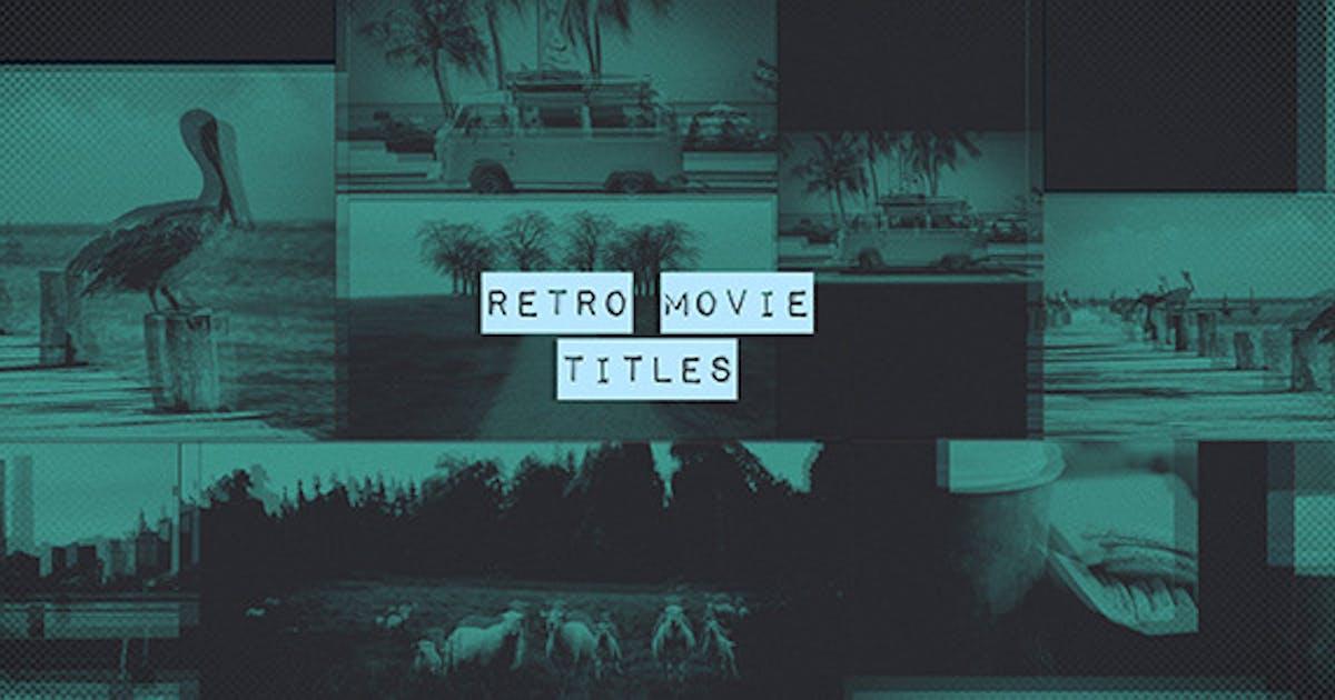 Download Retro Movie Titles by 3uma