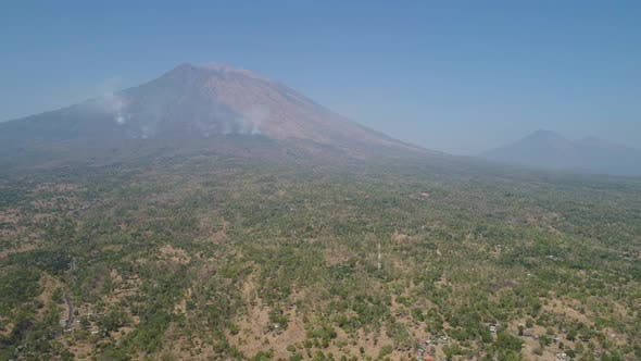 Thumbnail for Mountain Landscape Agung Volcano, Bali, Indonesia