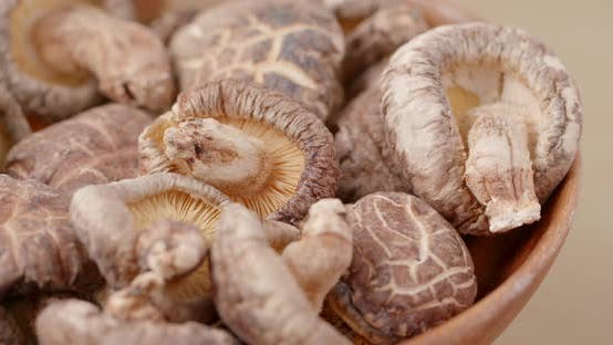 Thumbnail for Traditional chinese herbal, dried mushroom