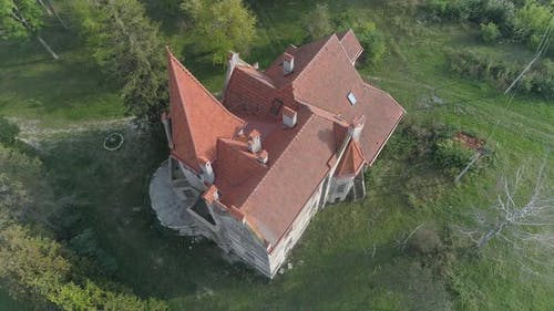 Castle seen from above