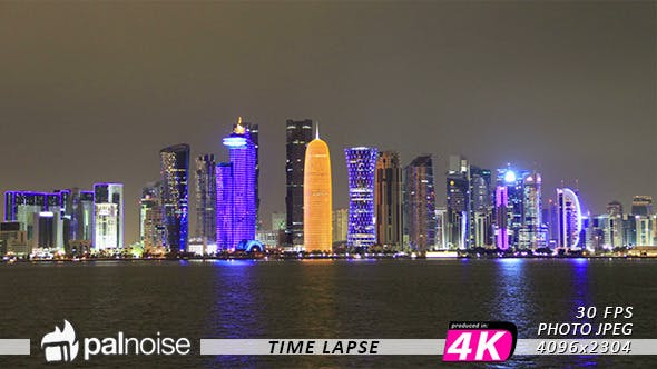 Thumbnail for Doha Cityscape Skyline