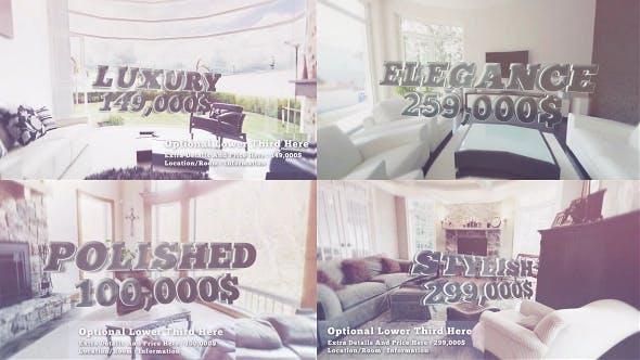 Thumbnail for Luxury Slideshow, Real Estate & Hotel Resort Promo