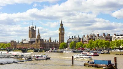 Westminster and Big Ben, London