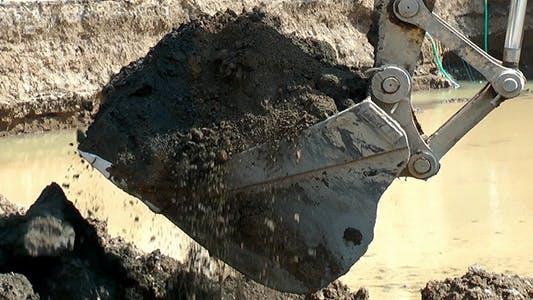 Excavator Spoon