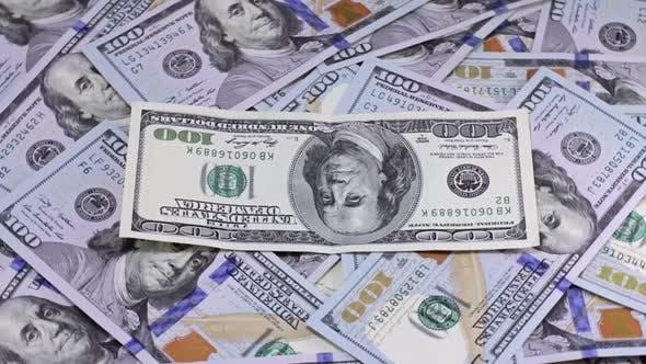 Thumbnail for Rotating Hundred Dollar Banknotes