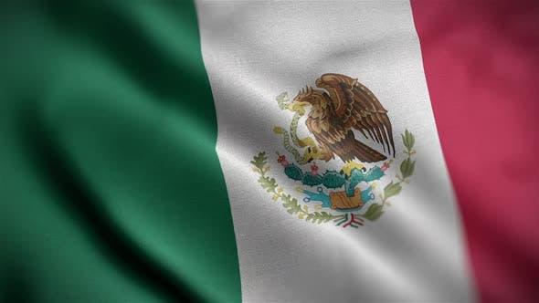 Mexico Flag Angle