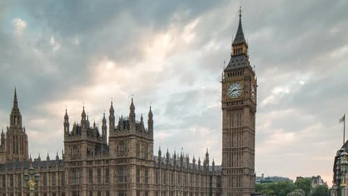Big ben houses of parliament london tourists city urban