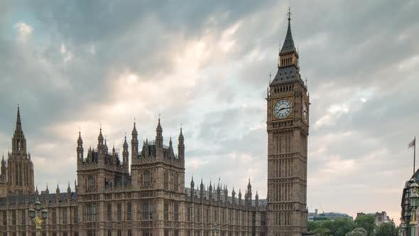 Thumbnail for Big ben Häuser des Parlaments London Touristen Stadt urban