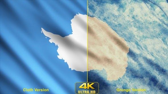 Antarctica Flags