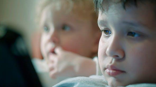 Thumbnail for Curious Children Faces
